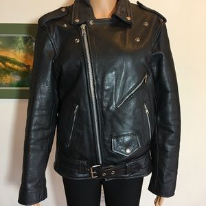 leather limited Jackets & Coats - 💝💝Leather limited biker jacket